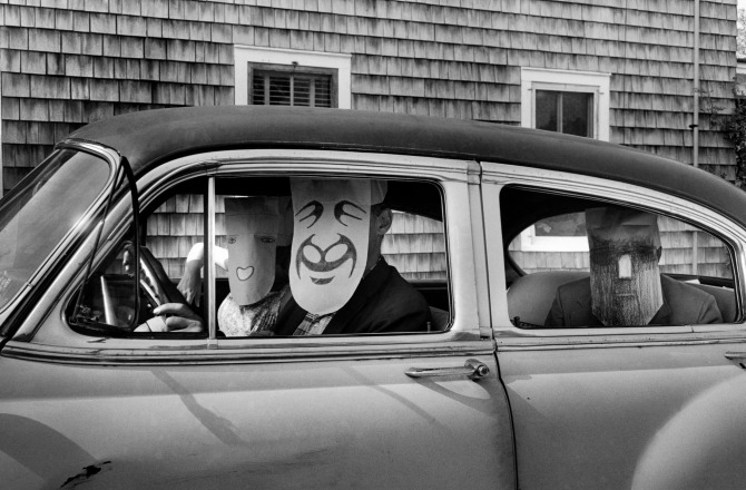 Mask Series with Saul Steinberg
